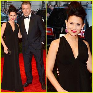 Alec & Hilaria Baldwin - Met Ball 2013 Red Carpet