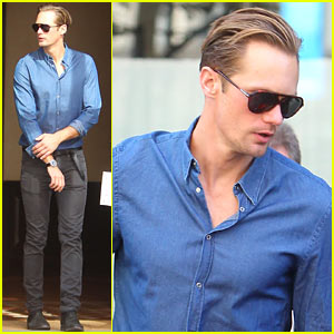 Alexander Skarsgard: 'Jimmy Fallon' Guest on Friday!