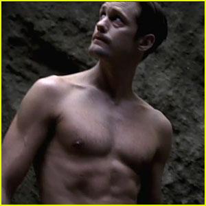 Alexander Skarsgard: Shirtless 'True Blood' Season 6 Trailer!