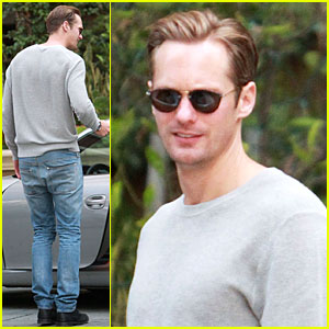 Alexander Skarsgard: 'The East' NYC Promotion on Monday!