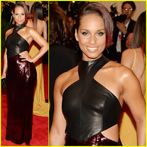 Alicia Keys - Met Ball 2013 Red Carpet