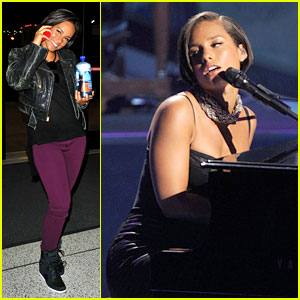Alicia Keys Takes Flight After 'American Idol' Performance