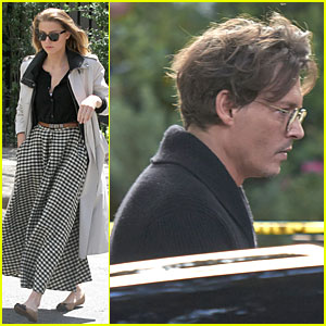 Amber Heard & Johnny Depp: Separate East & West Coast Outings!