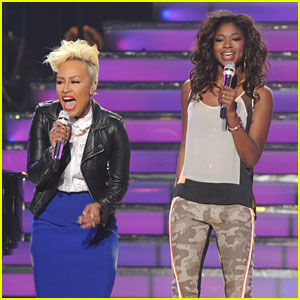 Amber Holcomb & Emeli Sande: 'American Idol' Finale! (Video)