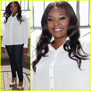 'American Idol' Winner Candice Glover: Empire State Building Visit (Exclusive Quotes)
