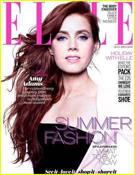 Amy Adams Covers 'Elle UK' July 2013