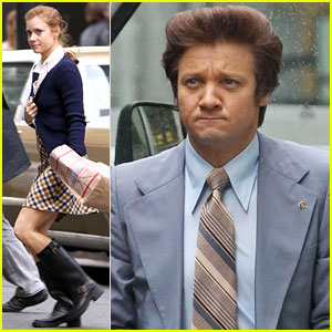 Amy Adams & Jeremy Renner Go Retro for 'American Hustle'