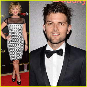 Amy Poehler & Adam Scott: Gracie Awards Gala 2013!
