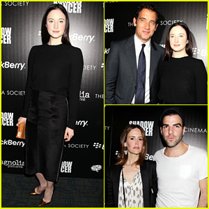 Andrea Riseborough & Clive Owen: 'Shadow Dancer' Screening