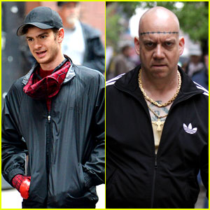 Andrew Garfield: Paul Giamatti as 'Spider-Man's Rhino (Photos