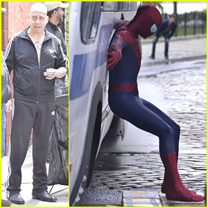 Andrew Garfield & Paul Giamatti: 'Spider-Man 2' Stunts