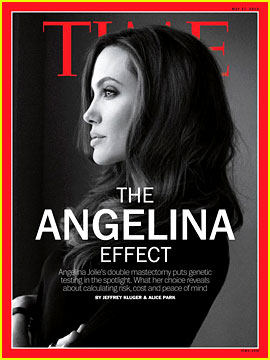 Angelina Jolie Covers 'Time' Magazine After Mastectomy