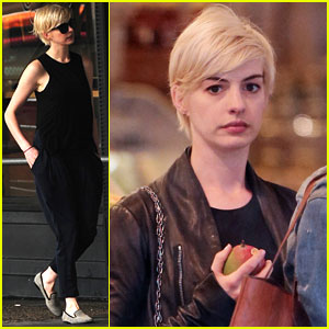 Anne Hathaway: Debbie Harry Was My Blonde Hair Inspiration