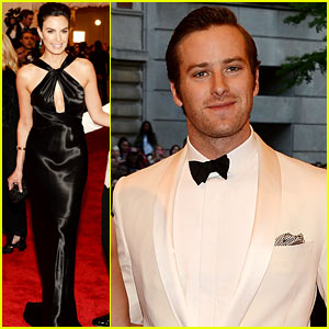 Armie Hammer: Met Ball 2013 with Elizabeth Chambers