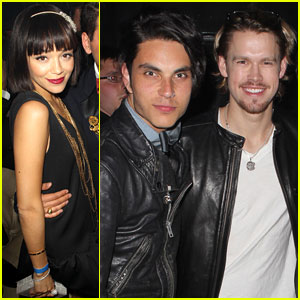 Ashley Madekwe & Chord Overstreet Attend 'Gatsby'-Themed Birthday Party