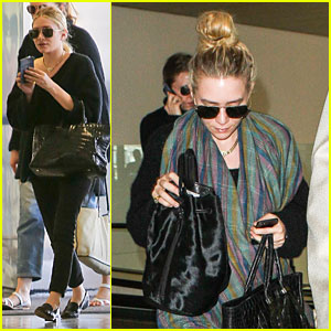Ashley Olsen: Memorial Day LAX Departure!