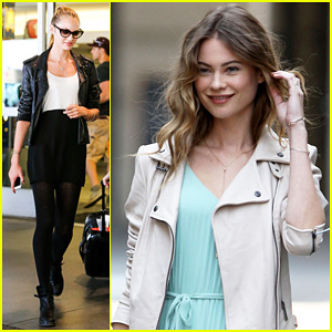 Behati Prinsloo Poses for Photo Shoot, Candice Swanepoel Arrives at LAX!