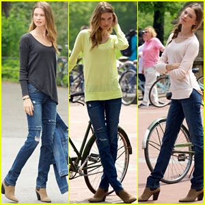 Behati Prinsloo Shares Toned Tummy Secrets!