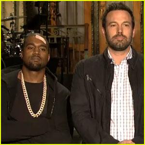 Ben Affleck & Kanye West: 'Saturday Night Live' Promos!