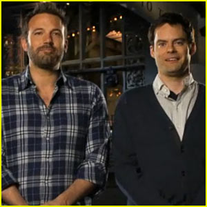 Ben Affleck: 'Saturday Night Live' Promos!