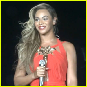 Beyonce: 'Standing on the Sun' Live Performance in Belgium! (Video)