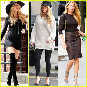 Blake Lively: Photo Shoot Fabulous in New York City!