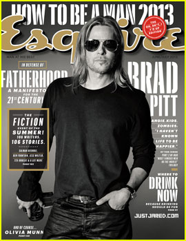 Brad Pitt to 'Esquire': 'I Haven't Known Life to Be Any Happier'