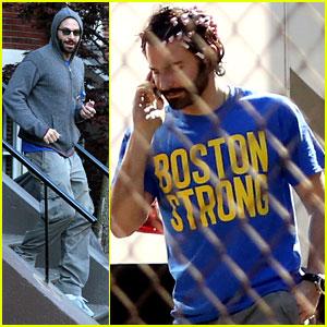 Bradley Cooper: Boston Strong on 'American Hustle' Set!