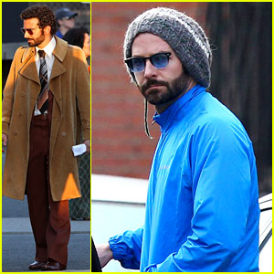Bradley Cooper Films 'American Hustle' After NYC Weekend