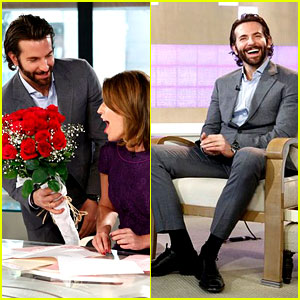Bradley Cooper Surprises Savannah Guthrie with Flowers