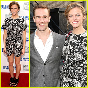 Brooklyn Decker & James Van Der Beek: Fox L.A. Screenings Lot Party!