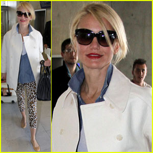 Cameron Diaz Departs France Following Yacht Excursion