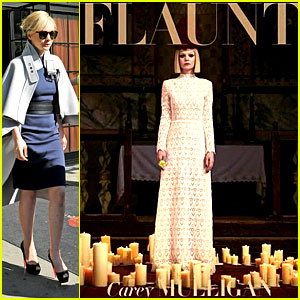 Carey Mulligan Covers 'Flaunt' Magazine Fabrication Issue!