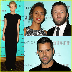 Carey Mulligan: 'Great Gatsby' Tiffany & Co. Dinner!