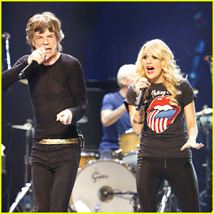 Carrie Underwood: Rolling Stones Concert Surprise Guest!