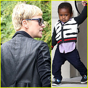 Charlize Theron & Jackson: Hollywood Party Pair!