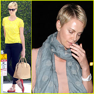 Charlize Theron: 'The Great Gatsby' Showing with Mom Gerda!