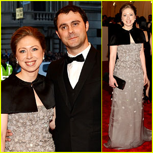 Chelsea Clinton & Marc Mezvinsky - Met Ball 2013 Red Carpet