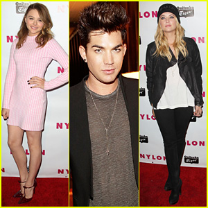 Chloe Moretz & Adam Lambert: 'Nylon' Young Hollywood Party!