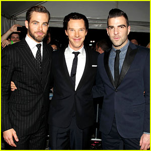 Chris Pine & Benedict Cumberbatch: 'Star Trek' NYC Screening!