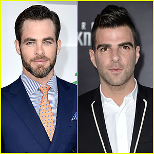 Chris Pine & Zachary Quinto: 'Star Trek Into Darkness' Premiere!