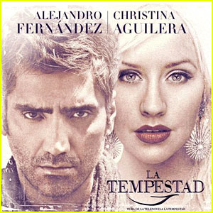 Christina Aguilera & Alejandro Fernandez Duet - Listen Now!