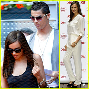Cristiano Ronaldo & Irina Shayk: Madrid Open After Shoe Event