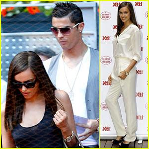 Cristiano Ronaldo & Irina Shayk: Madrid Open After Shoe Event