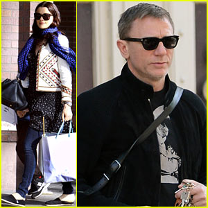Daniel Craig & Rachel Weisz: Afternoon Movie Date!