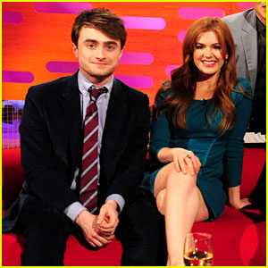 Daniel Radcliffe & Isla Fisher: Graham Norton Show Guests!