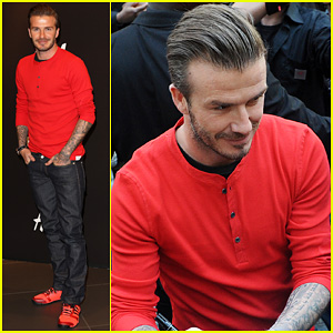 David Beckham: H&M Bodywear Collection Launch!