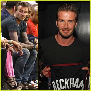 David Beckham: Miami Heat Conference Final Playoff Game!