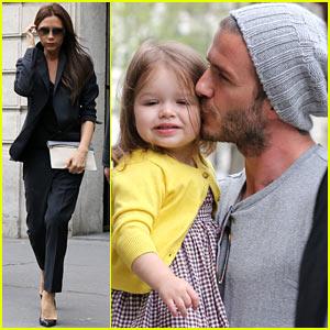 David & Victoria Beckham: Shopping Fun with Harper!