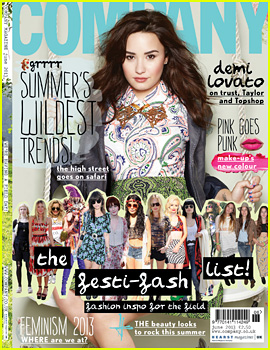 Demi Lovato Covers 'Company' June 2013